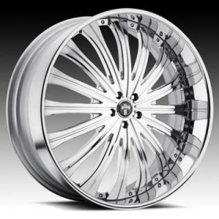 TYPE 38 CHROME RIM by DUB FORGED