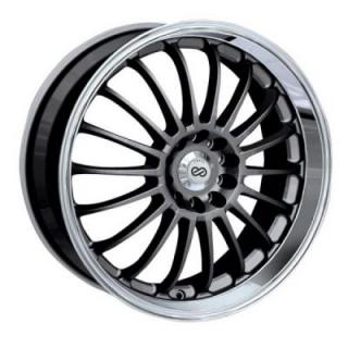 ENKEI WHEELS  FN-18 GUNMETAL WHEEL WITH MACHINED LIP