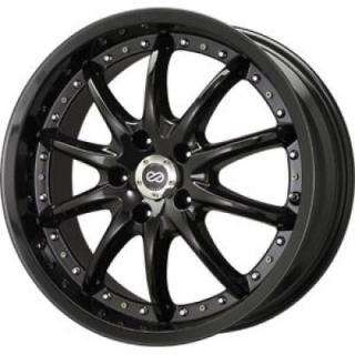 ENKEI WHEELS  LF 10 LUXURY BLACK WHEEL