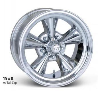 ET WHEELS  CLASSIC FIVE POLISHED WHEEL