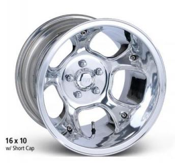 ET WHEELS  FUELER POLISHED WHEEL