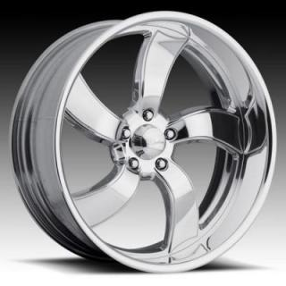 RACELINE WHEELS  DECEPTIVE POLISHED RIM
