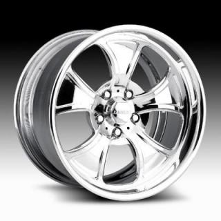 RACELINE WHEELS  204 STRIKER POLISHED RIM