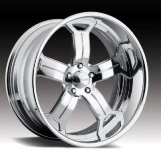 RACELINE WHEELS  208 UNIVERSE POLISHED RIM