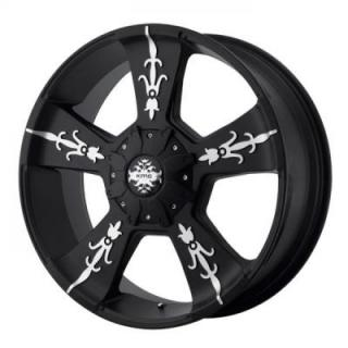 SPECIAL BUY WHEELS  KM668 MATTE BLACK