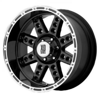 SPECIAL BUY WHEELS  XD SERIES XD766 DIESEL BLACK