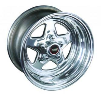 WELD RACING WHEELS  96 PROSTAR DRAG RACE ONLY POLISHED RIM