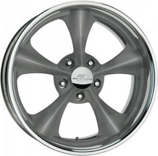 BILLET SPECIALTIES WHEELS  LEGENDS SERIES DAGGER G GRAY RIM