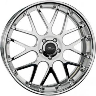 BILLET SPECIALTIES WHEELS  PRO-TOURING LE MANS POLISHED RIM with SATIN SPOKE ACCENTS