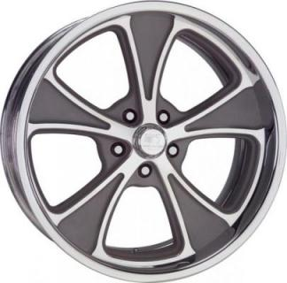 BILLET SPECIALTIES WHEELS  PROFILE COLLECTION ROULETTE B GRAY RIM