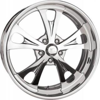 BILLET SPECIALTIES WHEELS  SLG SERIES SLG04 POLISHED RIM