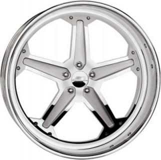 BILLET SPECIALTIES WHEELS  SLG SERIES SLG23 POLISHED RIM with SOFT LIP and SATIN FINISH