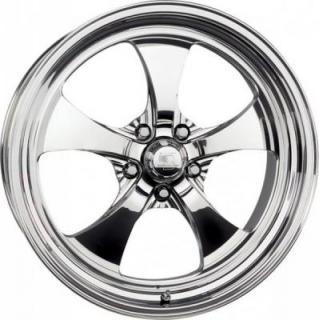 BILLET SPECIALTIES WHEELS  STREET SMART LINE STREET STAR POLISHED RIM