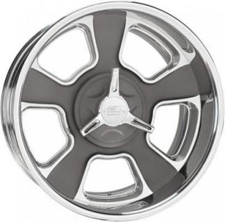 BILLET SPECIALTIES WHEELS  VINTAGE SERIES LEGACY 2 G GRAY RIM