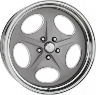 BILLET SPECIALTIES WHEELS  VINTAGE SERIES OUTLAW GRAY RIM