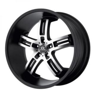 SPECIAL BUY WHEELS  WL026 BLACK MACHINE