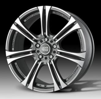 MOMO WHEELS  NEXT MATTE ANTHRACITE RIM with DIAMOND CUT FACE