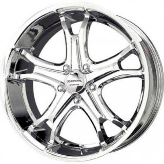 LIQUID METAL WHEELS  COIL 5 CHROME RIM