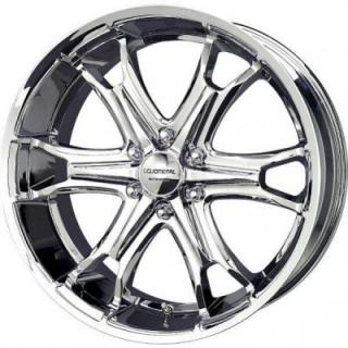 LIQUID METAL WHEELS  COIL 6 CHROME RIM