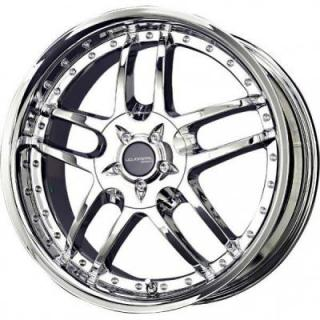 LIQUID METAL WHEELS  CORE CHROME RIM