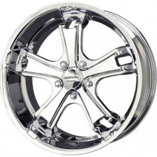 LIQUID METAL WHEELS  DYNO 5 CHROME RIM