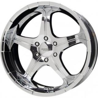 LIQUID METAL WHEELS  FLARE CHROME RIM