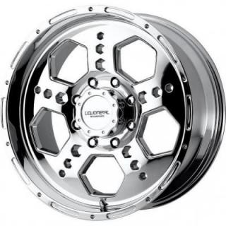 LIQUID METAL WHEELS  GATLIN ATV CHROME RIM