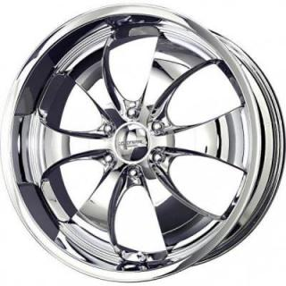 LIQUID METAL WHEELS  LITHIUM 6 CHROME RIM