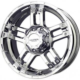 LIQUID METAL WHEELS  RHINO CHROME RIM