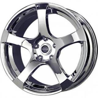 LIQUID METAL WHEELS  STATIC CHROME RIM