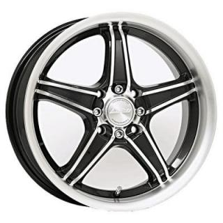 SPEEDY WHEELS  EDGE BLACK RIM