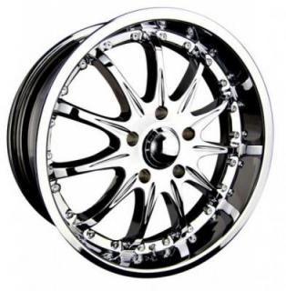 SPEEDY WHEELS  EXTREME II CHROME RIM