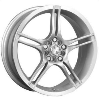 SPEEDY WHEELS  FUSION SILVER RIM with MACHINED LIP