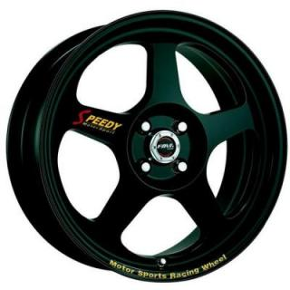 SPEEDY WHEELS  RACE MODE BLACK RIM