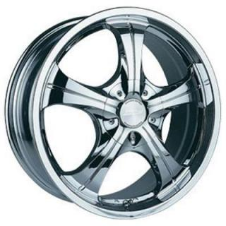 SPEEDY WHEELS  SIRROCO CHROME RIM