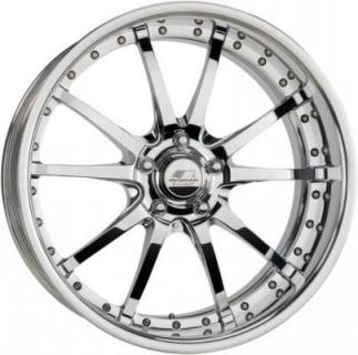 BILLET SPECIALTIES WHEELS  PRO-TOURING SPLINE POLISHED and SATIN RIM