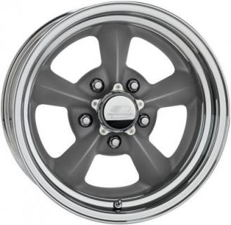 BILLET SPECIALTIES WHEELS  LEGENDS SERIES RIVAL-G GRAY RIM