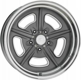 BILLET SPECIALTIES WHEELS  VINTAGE SERIES LOBECK GRAY RIM