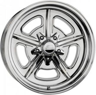 BILLET SPECIALTIES WHEELS  VINTAGE SERIES LOBECK POLISHED RIM