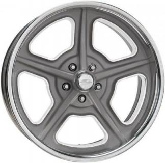 BILLET SPECIALTIES WHEELS  VINTAGE SERIES HERITAGE GRAY RIM