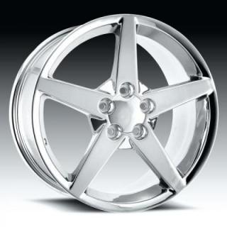 FACTORY REPRODUCTIONS WHEELS  CORVETTE C6 2005-2007 CHROME RIM