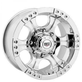 REV WHEELS  OFFROAD SHOOTER 824 CHROME RIM
