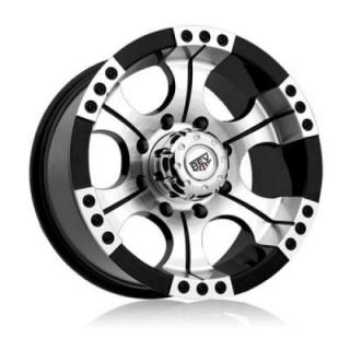 REV WHEELS  OFFROAD SHOOTER 824 BLACK/MACHINED RIM