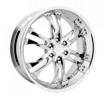 REV WHEELS  RWD EDGE 821 CHROME RIM