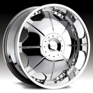 STRADA WHEELS  MIRROR CHROME RIM