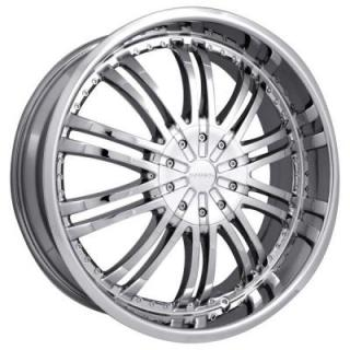 STRADA WHEELS  VENTI CHROME RIM