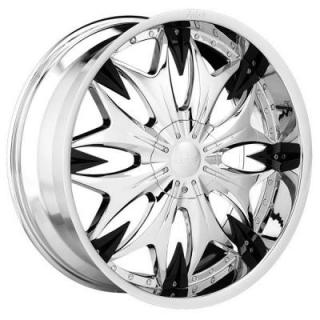 DOLCE WHEELS  DC20 CHROME WHEEL