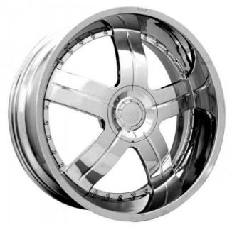 DOLCE WHEELS  DC22 CHROME WHEEL