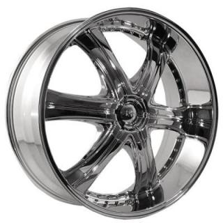 DOLCE WHEELS  DC28 CHROME WHEEL