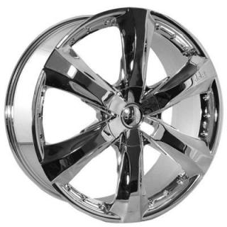 DOLCE WHEELS  DC34 CHROME WHEEL